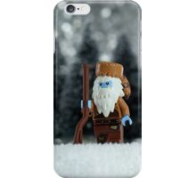 Yeti Crockett - King of the Wild Frontier iPhone Case/Skin