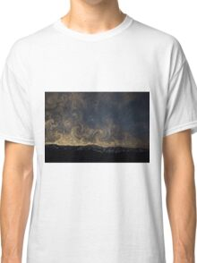 Meteor Over the Bridgers (Painting) Classic T-Shirt