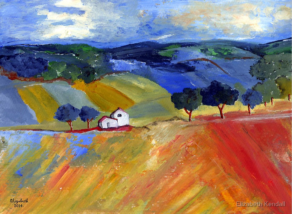 Franschoek by Elizabeth Kendall