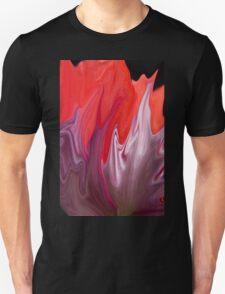 Abstract Poppy  T-Shirt