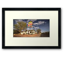 The Aztec Motel  Framed Print
