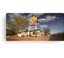 The Aztec Motel  Canvas Print