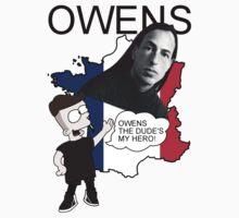 O W E N S  tee by MIKE QUEIRO