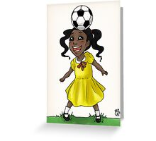 Freestyling Love for Girls Greeting Card