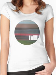 Colours of the Urban Landscape T's Women's Fitted Scoop T-Shirt