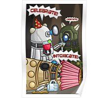 Dalek Party Poster