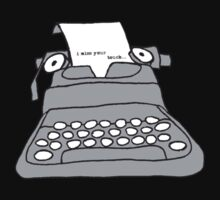 Lonely Typewriter Kids Clothes