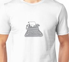 Lonely Typewriter Unisex T-Shirt