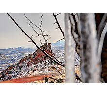 Hidden Red Rocks Photographic Print