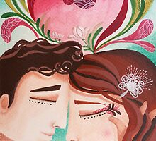 Blossoming Love - Hand-painted Illustrations by Marion Bouquet