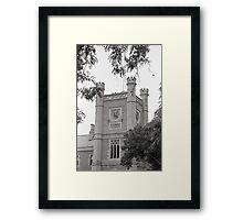 Clock—Government House Tasmania Framed Print