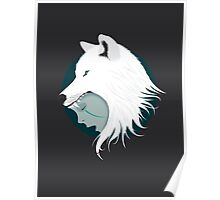 Boy Cries Wolf (White) Poster