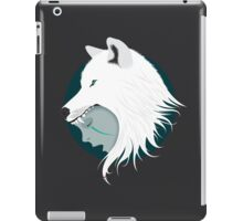 Boy Cries Wolf (White) iPad Case/Skin