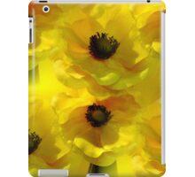 Yellow Poppies iPad Case/Skin