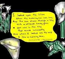 The Lily & The Bee by David Fraser