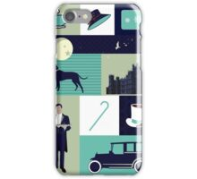 Downton Abbey - Collage iPhone Case/Skin
