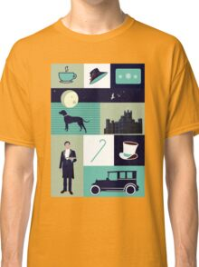 Downton Abbey - Collage Classic T-Shirt