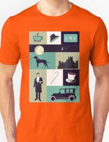 Downton Abbey - Collage Unisex T-Shirt