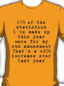Lies, Damn Lies, and Statistics T-Shirt