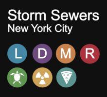 Storm sewers house of mutants T-Shirt