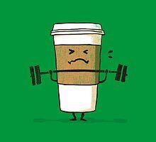 Strong coffee by Budi Kwan