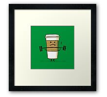 Strong coffee Framed Print