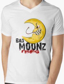 Bad Moonz Rising Mens V-Neck T-Shirt