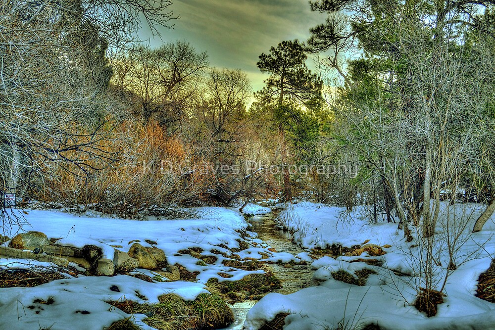 White Icing At Sundown by K D Graves Photography