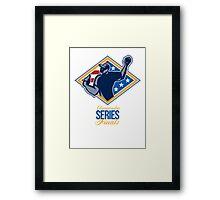 American Championship Series Finals Baseball Framed Print