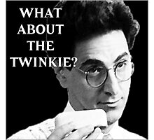 What about the Twinkie? Photographic Print