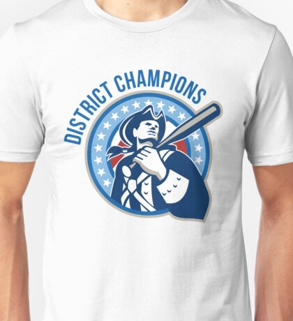 American Patriot Baseball District Champions Unisex T-Shirt