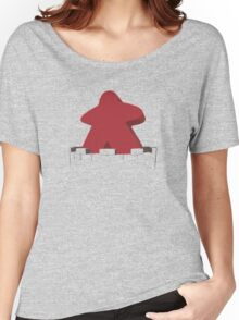 Meeple in the castle! Women's Relaxed Fit T-Shirt