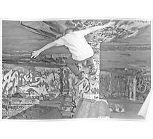 Free man - skate Poster