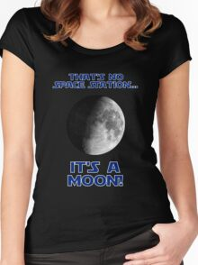 That's No Space Station Women's Fitted Scoop T-Shirt