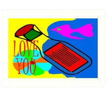 LOVE YOU 13 Art Print