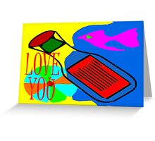 LOVE YOU 13 Greeting Card
