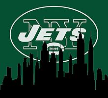 New York Silhouette Jets by AbsoluteLegend