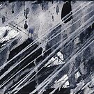 Abstract Rain #3 Painting by Richard Yeomans