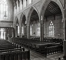 St David's Anglican Cathedral, Hobart by Brett Rogers