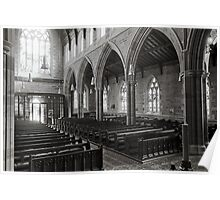 St David's Anglican Cathedral, Hobart Poster