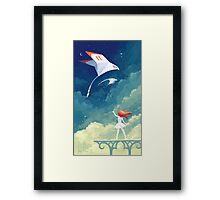 Flyby Framed Print