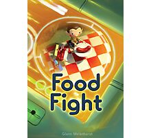 Food Fight poster Photographic Print