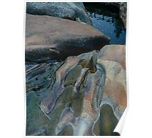 Water-Worn Rocks Poster