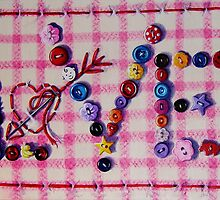 Button Love by Paula Oakley