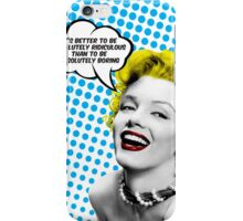 Absolutely Ridiculous Marilyn Monroe iPhone Case/Skin