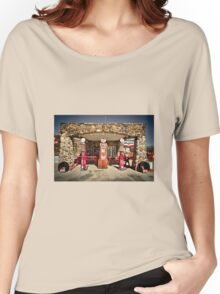 Old Pumps at Ellis Springs  Women's Relaxed Fit T-Shirt