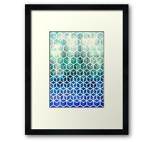 The Geometry of Bees and Boxes Framed Print