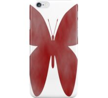 Butterfly Red iPhone Case/Skin