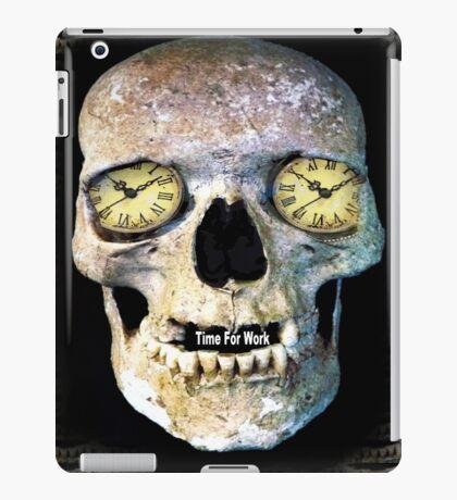 Time Skull2 iPad Case/Skin