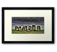 Stonehenge England Framed Print